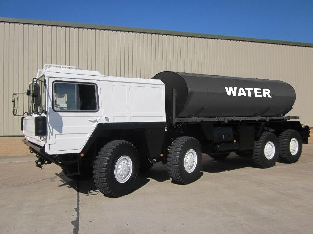 MoD Surplus, ex army military vehicles for sale - Man 8x8 Fuel / Water Tanker
