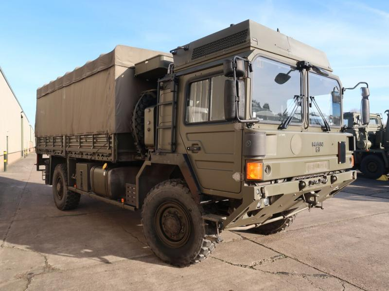 military vehicles for sale - MAN HX60 18.330 4x4 Drop Side Cargo Truck