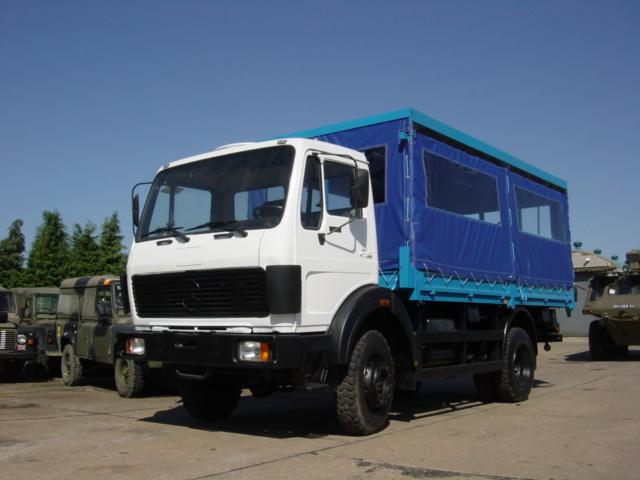 Mercedes Benz 1017 Personnel Carrier - ex military vehicles for sale, mod surplus
