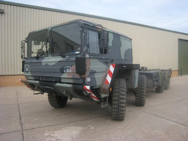 MoD Surplus, ex army military vehicles for sale - MAN Kat A1 15t 8x8 Chassis cab