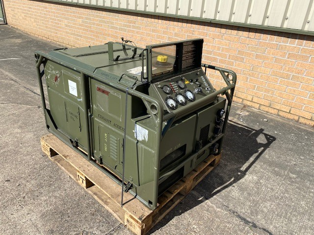 MoD Surplus, ex army military vehicles for sale - Lister Petter AirLog 5.6KVA Diesel Generator