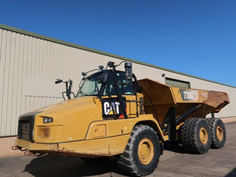 MoD Surplus, ex army military vehicles for sale - Caterpillar 730 C Dumper 2014