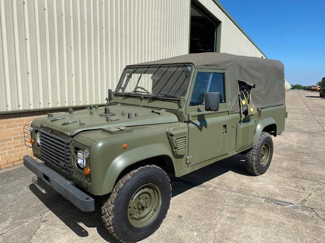 military vehicles for sale - Land Rover Defender Wolf 110 Soft Top