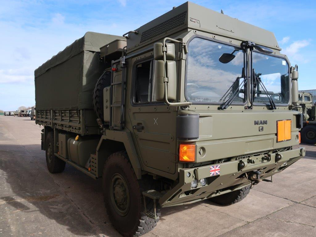 military vehicles for sale - MAN HX60 18.330 4x4 Cargo Winch Truck