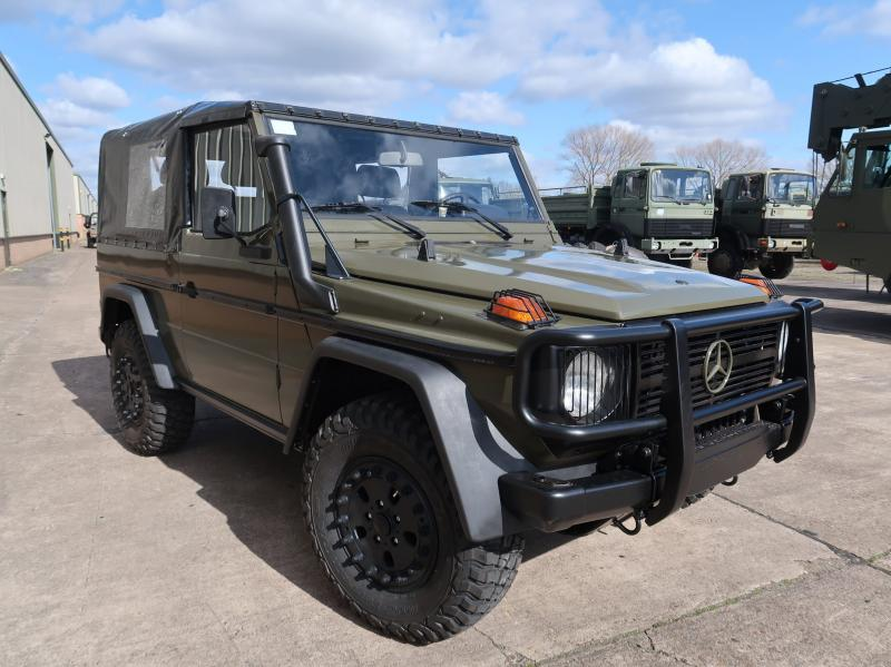 MoD Surplus, ex army military vehicles for sale - Mercedes Benz G wagon 250 Wolf
