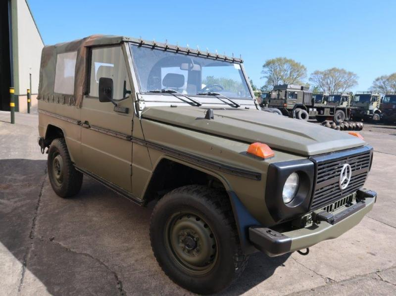 MoD Surplus, ex army military vehicles for sale - Mercedes Benz 250 G Wagon
