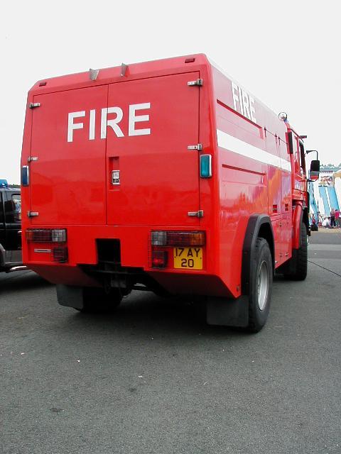 Scania 4x4 RIV (Ex Queens Flight) Fire Appliance