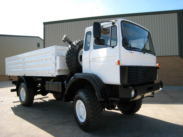 Iveco 110-16 4x4 cargo truck - ex military vehicles for sale, mod surplus