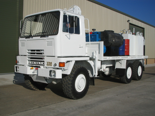 military vehicles for sale - Bedford TM 6x6 Service / Lube Truck