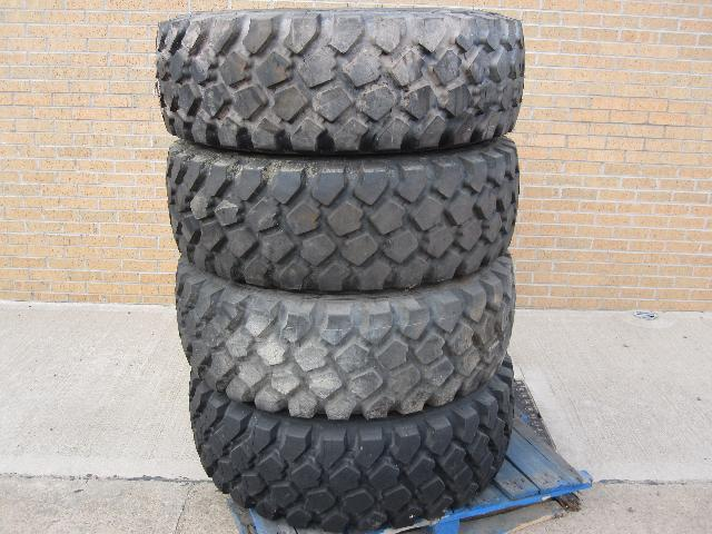 Unused Michelin 395/85 R 20 tyres - ex military vehicles for sale, mod surplus