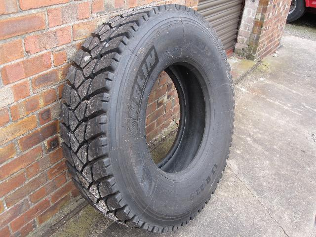 Unused Michelin 13 R 22.5 tyres - ex military vehicles for sale, mod surplus