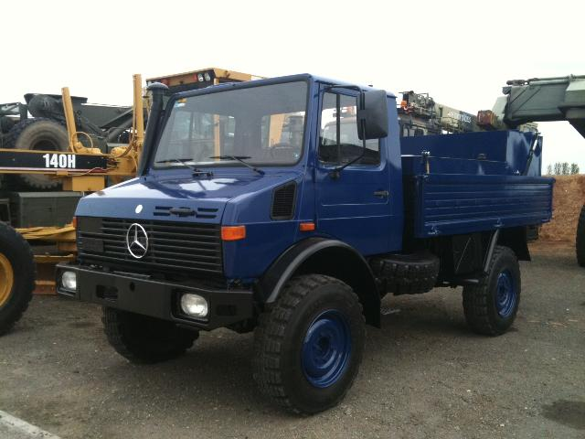 military vehicles for sale - Mercedes Benz Unimog U1300L Fuel Truck
