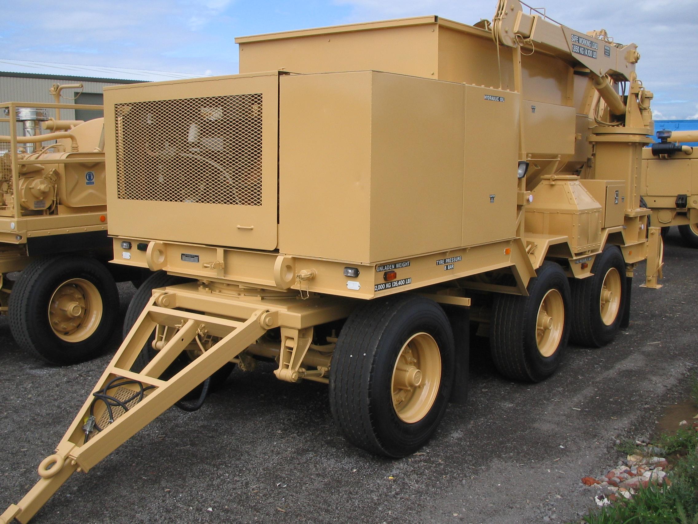 Volumetric concrete mixer - ex military vehicles for sale, mod surplus