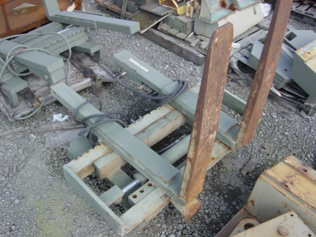 MoD Surplus, ex army military vehicles for sale - Volvo fork lift attachments