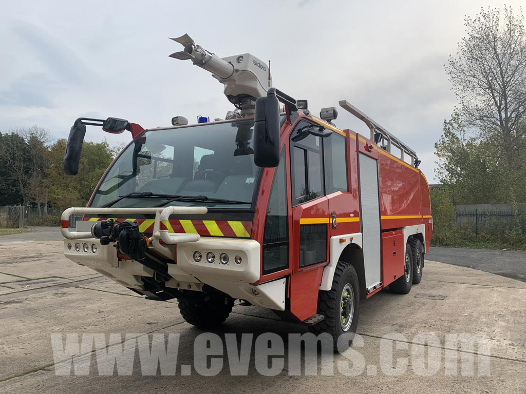 MoD Surplus, ex army military vehicles for sale - Sides VMA S3X (SENTINAL) 6x6 Airport Crash Tender / Fire Appliance