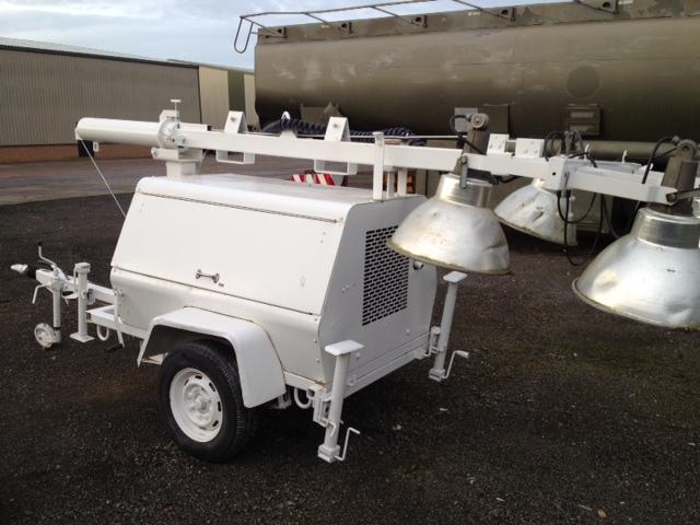 Terex Amida lighting towers - ex military vehicles for sale, mod surplus