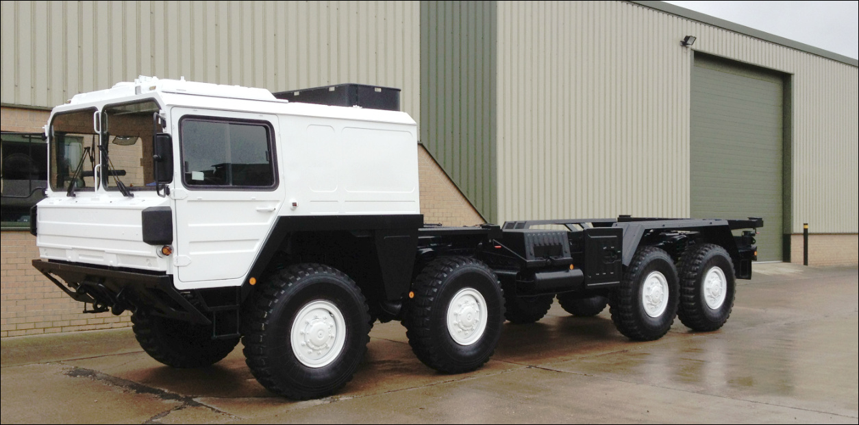 MoD Surplus, ex army military vehicles for sale - MAN Kat A1 15t 8x8 with Twistlocks