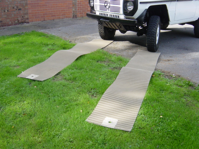 military vehicles for sale - Self recovery matting