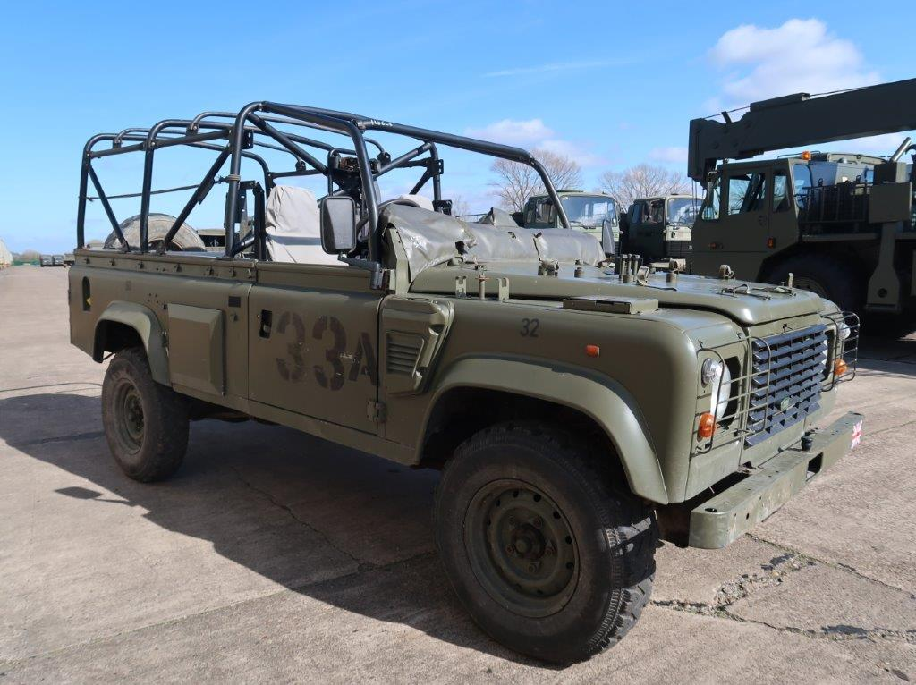 military vehicles for sale - Land Rover Defender Wolf 110 Scout vehicle
