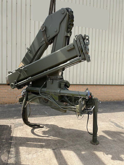 military vehicles for sale - HMF 910 Hydraulic Crane
