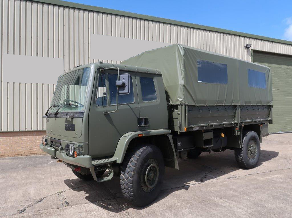 military vehicles for sale - Leyland Daf T45 4x4 Personnel Carrier / shoot vehicle with Canopy & Seats