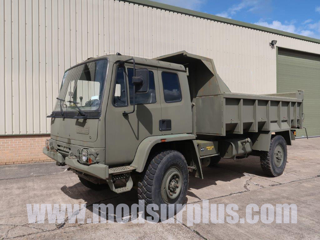 military vehicles for sale - Leyland Daf 4x4 Tipper Truck