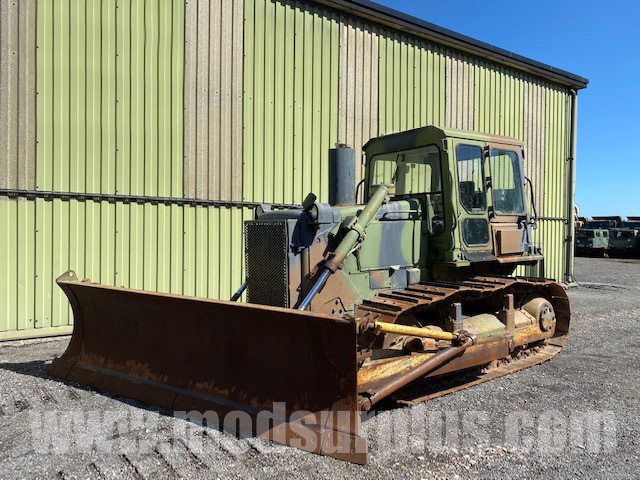 Caterpillar D6D dozer  - ex military vehicles for sale, mod surplus