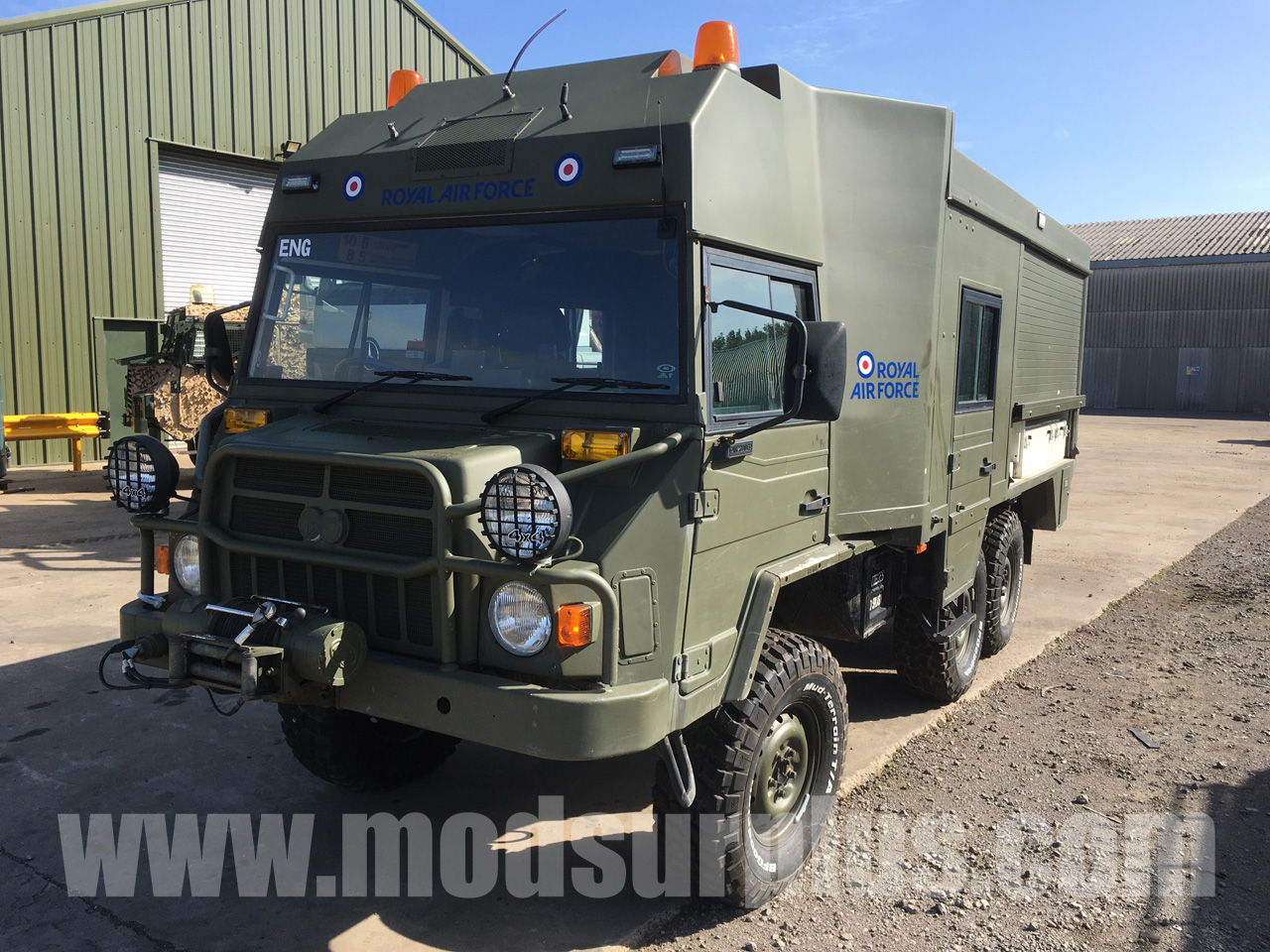 military vehicles for sale - Pinzgauer 718 MK 6x6 RHD Crew Cab Utility