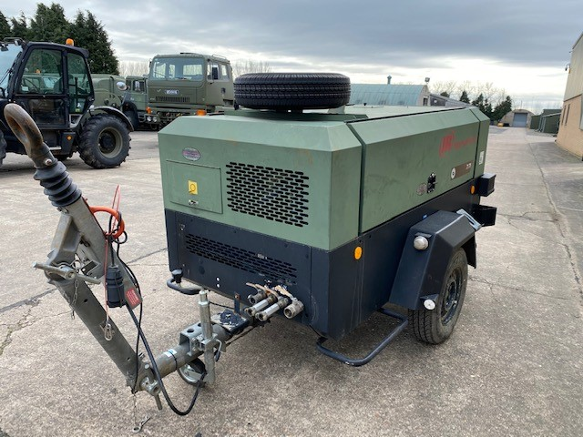 MoD Surplus, ex army military vehicles for sale - Ingersoll Rand 7-71 260 CFM Compressor