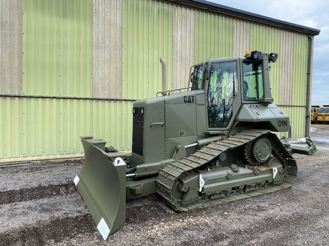 Caterpillar D5N XL Dozer with Ripper - ex military vehicles for sale, mod surplus
