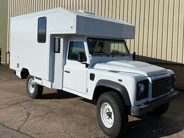 MoD Surplus, ex army military vehicles for sale - Land Rover Defender 130 Box Vehicle