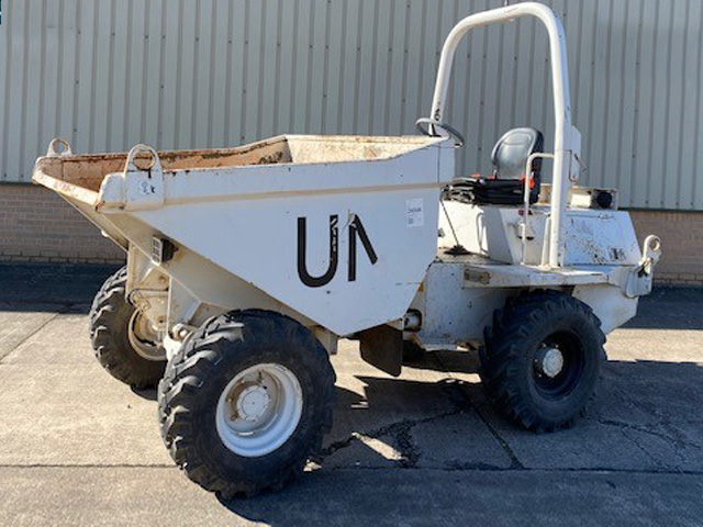 MoD Surplus, ex army military vehicles for sale - Ex Military Terex TA3 Dumper