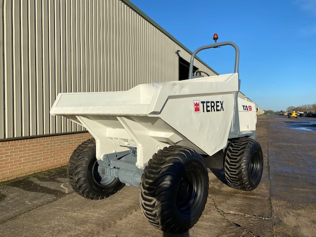 MoD Surplus, ex army military vehicles for sale - Terex TA9 4×4 9 Ton Dumper