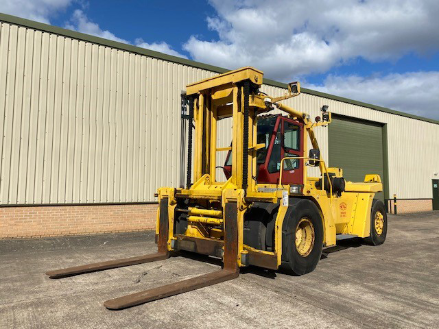MoD Surplus, ex army military vehicles for sale - CVS Ferrari 2812 28 Ton Forklift