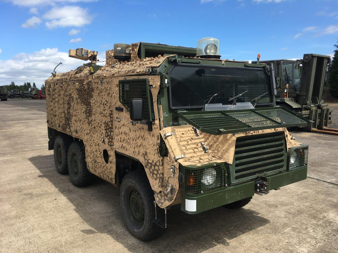 MoD Surplus, ex army military vehicles for sale - Pinzgauer Vector 718 6×6 Armoured Patrol Vehicles