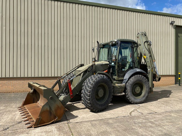 MoD Surplus, ex army military vehicles for sale - JCB 4CX Sitemaster Backhoe Loader