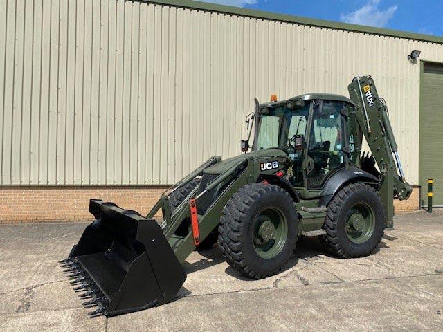 MoD Surplus, ex army military vehicles for sale - JCB 4CX Sitemaster Backhoe Loader