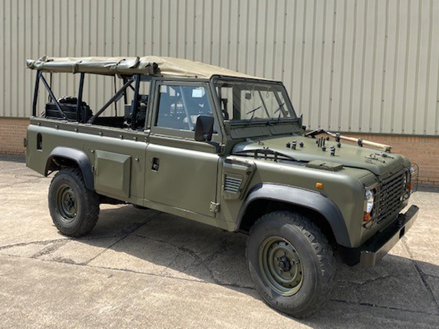 Land Rover Defender 110 Wolf  RHD Soft Top (Remus) - ex military vehicles for sale, mod surplus
