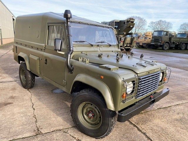 Land Rover Defender 110 Wolf  LHD Hard Top (Remus) - ex military vehicles for sale, mod surplus