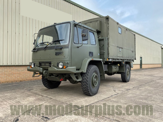 military vehicles for sale - Leyland Daf Box Truck (Potential Overlander)