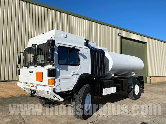 MoD Surplus, ex army military vehicles for sale - MAN HX60 18.330 4x4 Tanker Truck