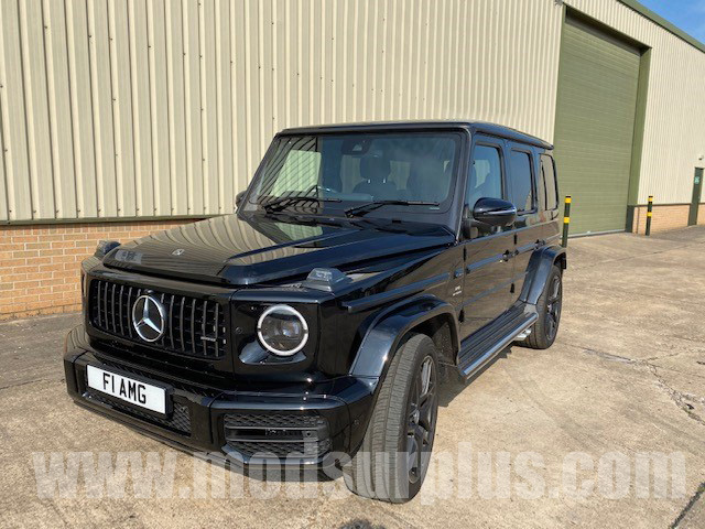 MoD Surplus, ex army military vehicles for sale - Mercedes-Benz G Wagon G63 AMG (2020 Model)