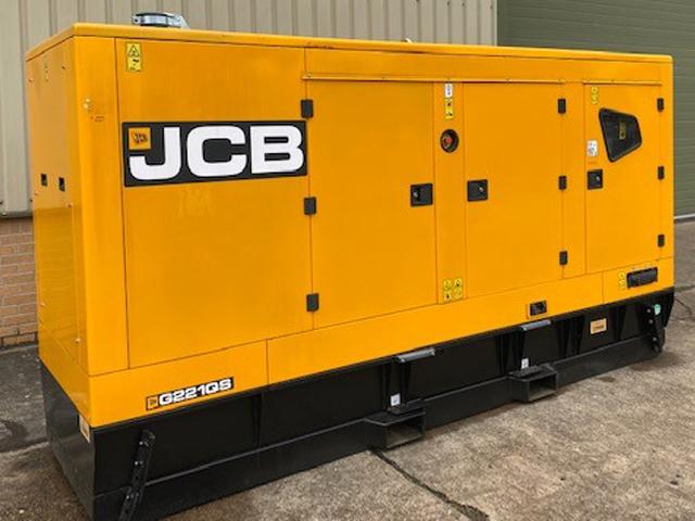 Unused JCB 200 KVA Silent Generators - ex military vehicles for sale, mod surplus
