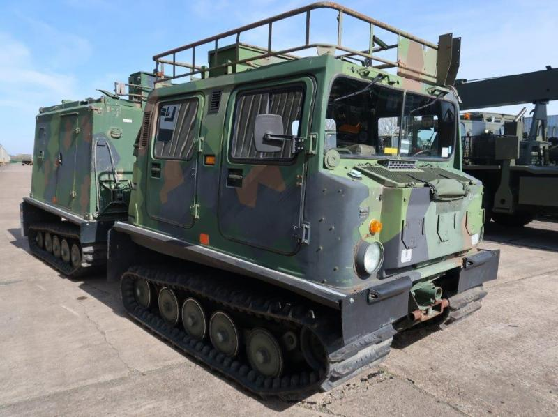 military vehicles for sale - Hagglunds BV206 6 Cylinder Diesel Radio Vehicle