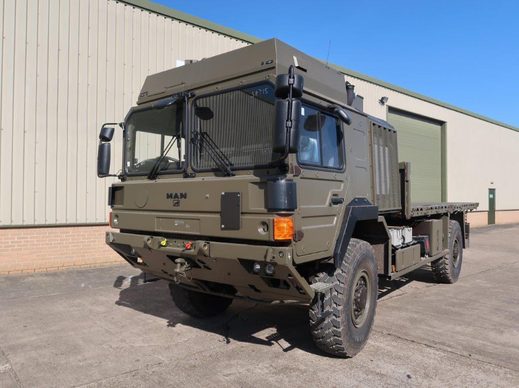 MoD Surplus, ex army military vehicles for sale - MAN HX60 18.330 4x4 Flatbed Cargo Truck (UNUSED)