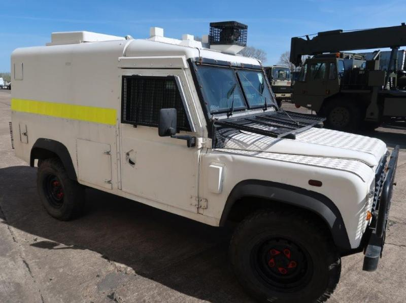MoD Surplus, ex army military vehicles for sale - Land Rover Snatch 2A Armoured Defender 110 300TDi