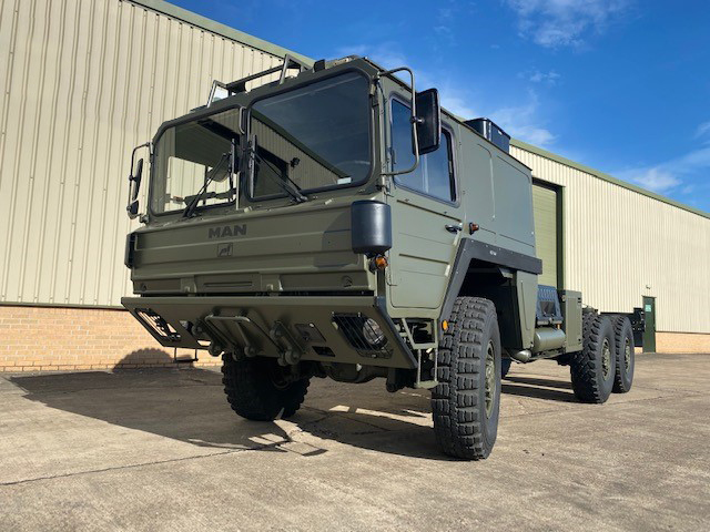 MoD Surplus, ex army military vehicles for sale - MAN KAT A1 6x6 LHD Chassis Cab Trucks