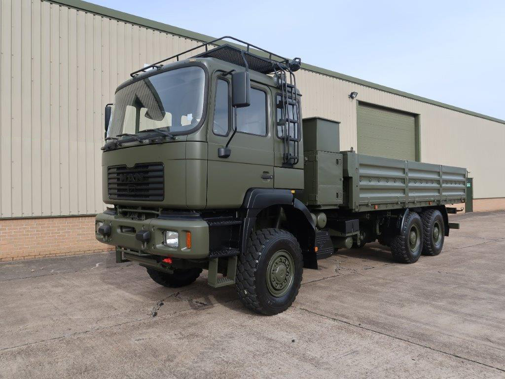 MoD Surplus, ex army military vehicles for sale - MAN 27.314 6x6 Cargo Truck