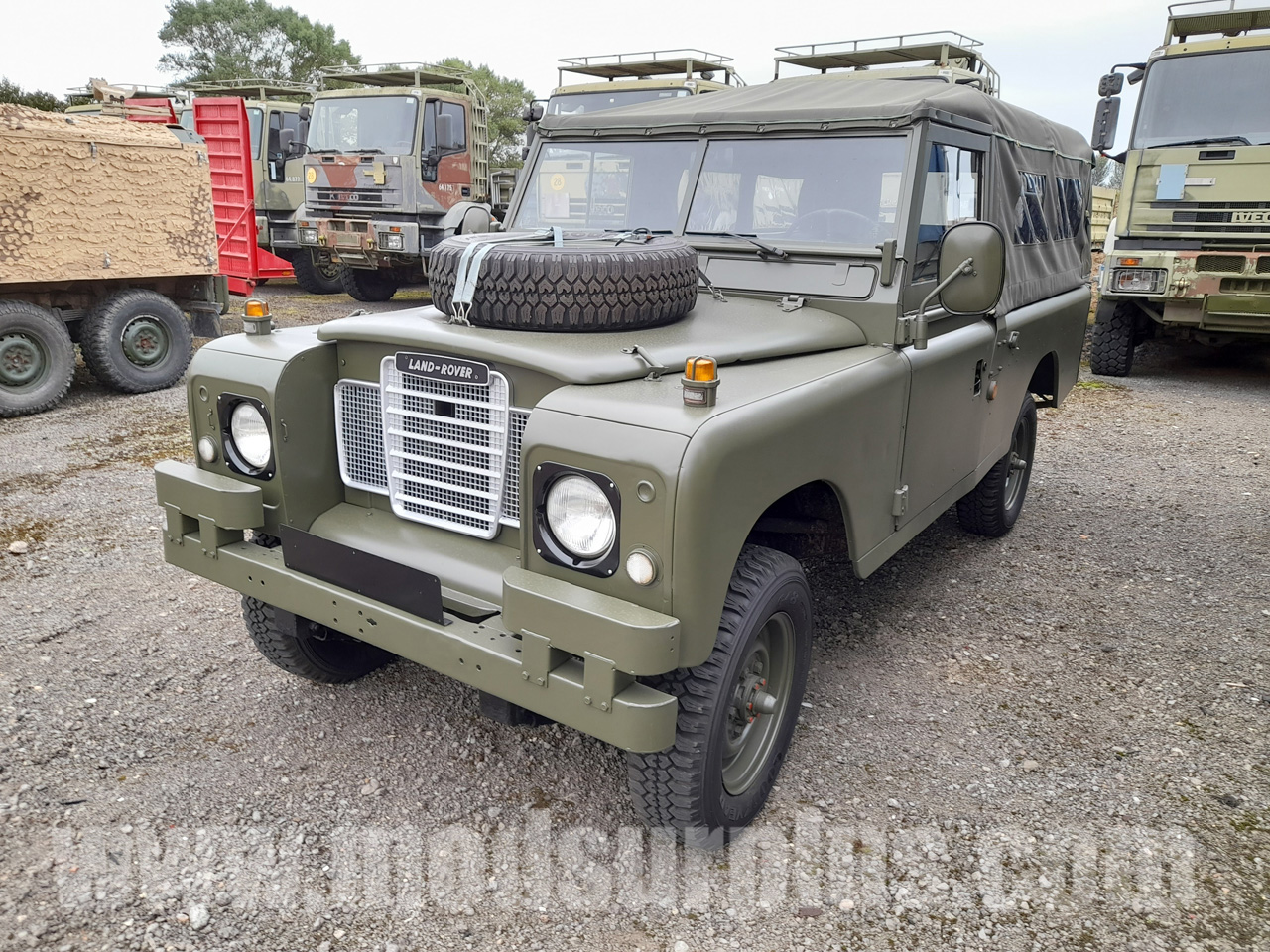 military vehicles for sale - Land Rover Series 3 109 (Diesel)