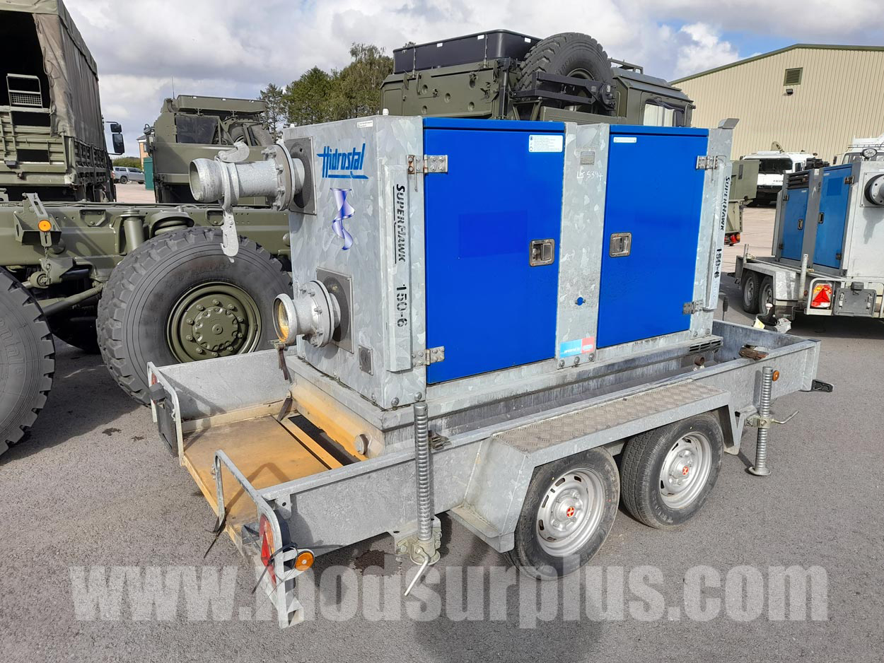 MoD Surplus, ex army military vehicles for sale - Hidrostal Superhawk 150-6 Water Pump